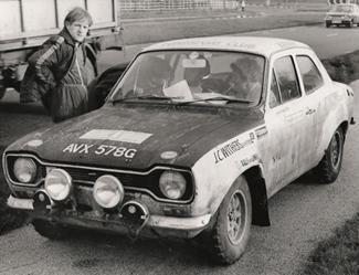 W2- Brian Culcheth /Johnston Syer AVX578G RAC Rally 1971